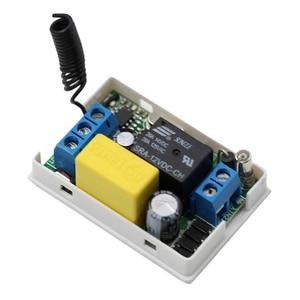 Image 5 - AC 220V 1CH ממסר אלחוטי מרחוק מערכת מתג שלט רחוק מתג 10A מקלט + עמיד למים משדר 315Mhz/433Mhz