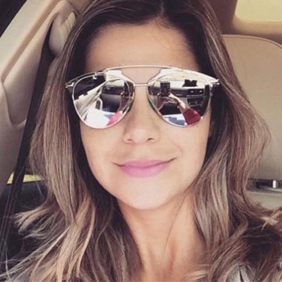 018e7ec6edf16 2016 Novas Mulheres do vintage Óculos De Sol Da Marca de Moda de Luxo Top  Grade