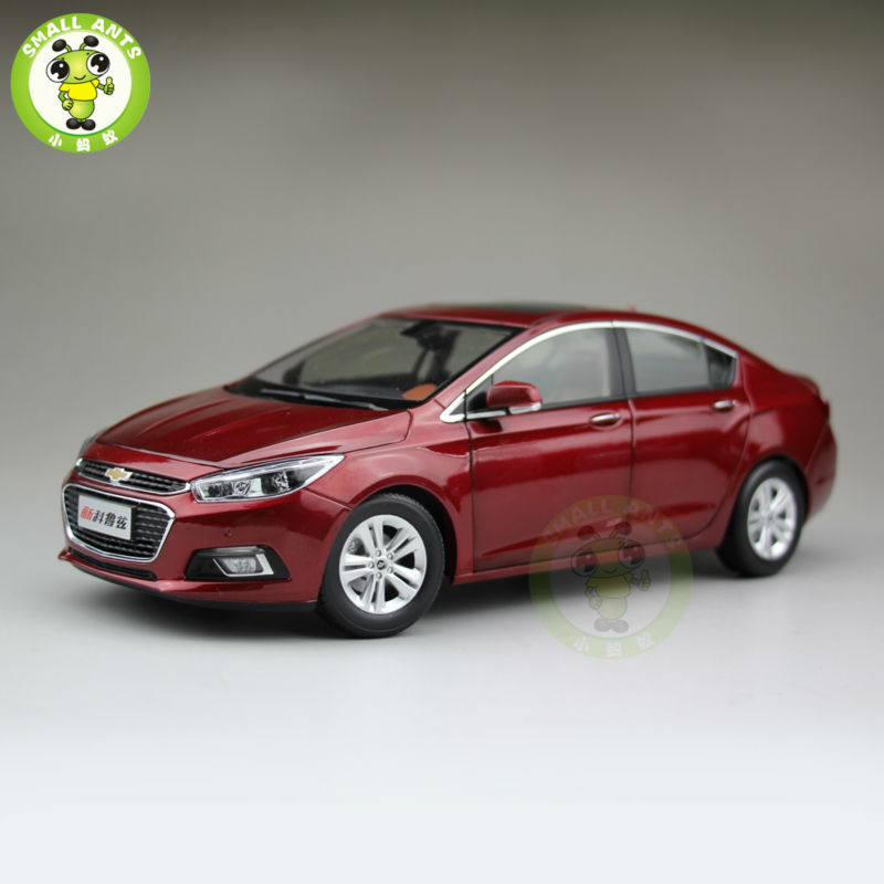 1:18 Chevrolet New Cruze 2015 Diecast Car Model Red