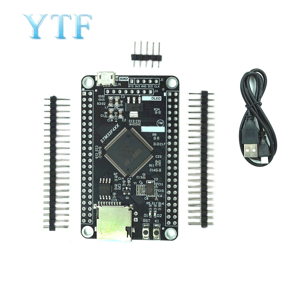 STM32F407VGT6/STM32F407VET6 Development Board MCU Mini SD SPI Interface Learning Board STM32 System Board