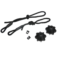 new arrival New Arrival 1 set Rear Parcel Shelf String Holding Strap Cord Accessories For Car Truck Stowing Tidying (3)