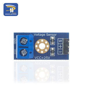 Умная электроника, постоянный ток 0-25 в, стандартный модуль датчика напряжения, тест электронных блоков, умный робот для arduino, Набор для творчества