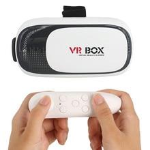 2016 Google CAJA de cartón VR VR II 2.0 Versión Virtual realidad Gafas 3D Para 3.5-6.0 pulgadas Smartphone + Bluetooth Controlador 1.0