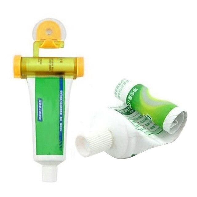 1 PZ Creativo Rotolamento Squeezer Dentifricio Tubo Partner Sucker Hanging Holde distributeur dentifricio
