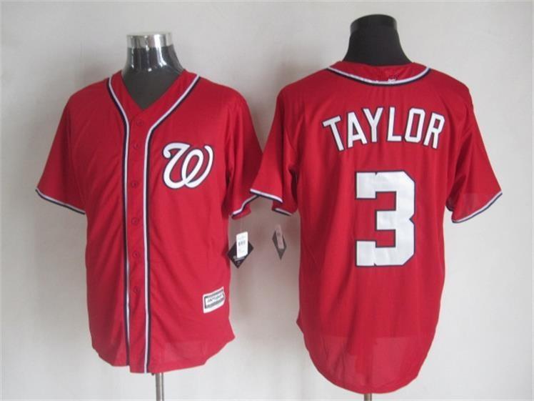 2015 Cheap Washington baseball jerseys 3 Michael Taylor Blue white stitched jersey - Sale, Top Shop store