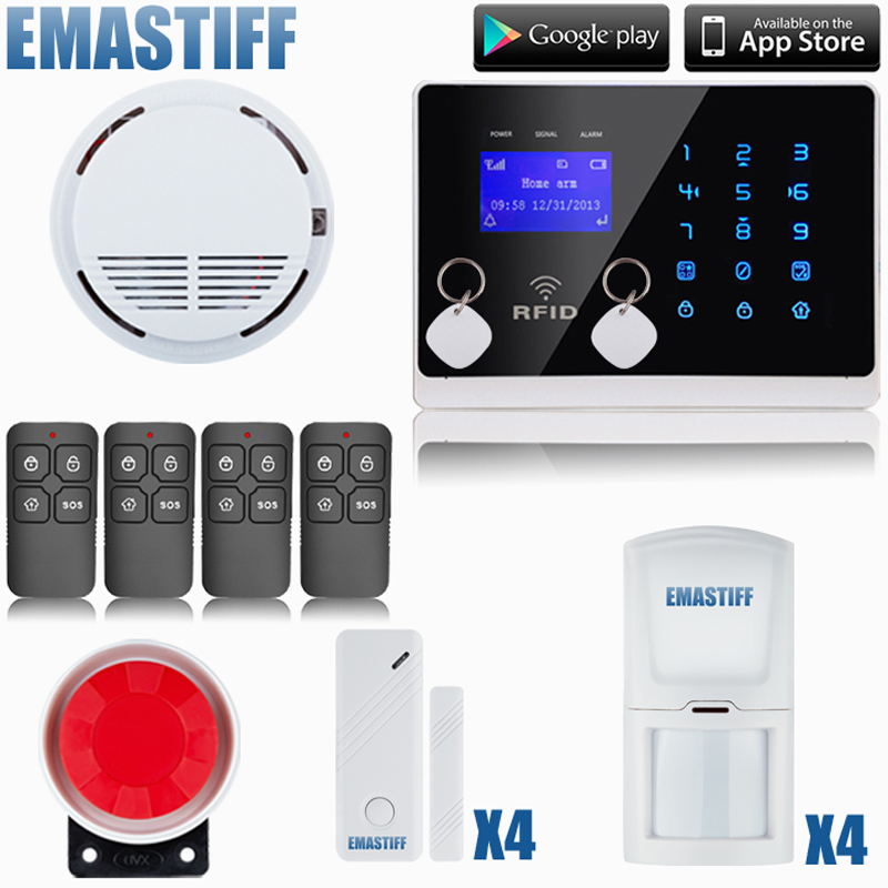 2wired ptns home burglar alarm system with