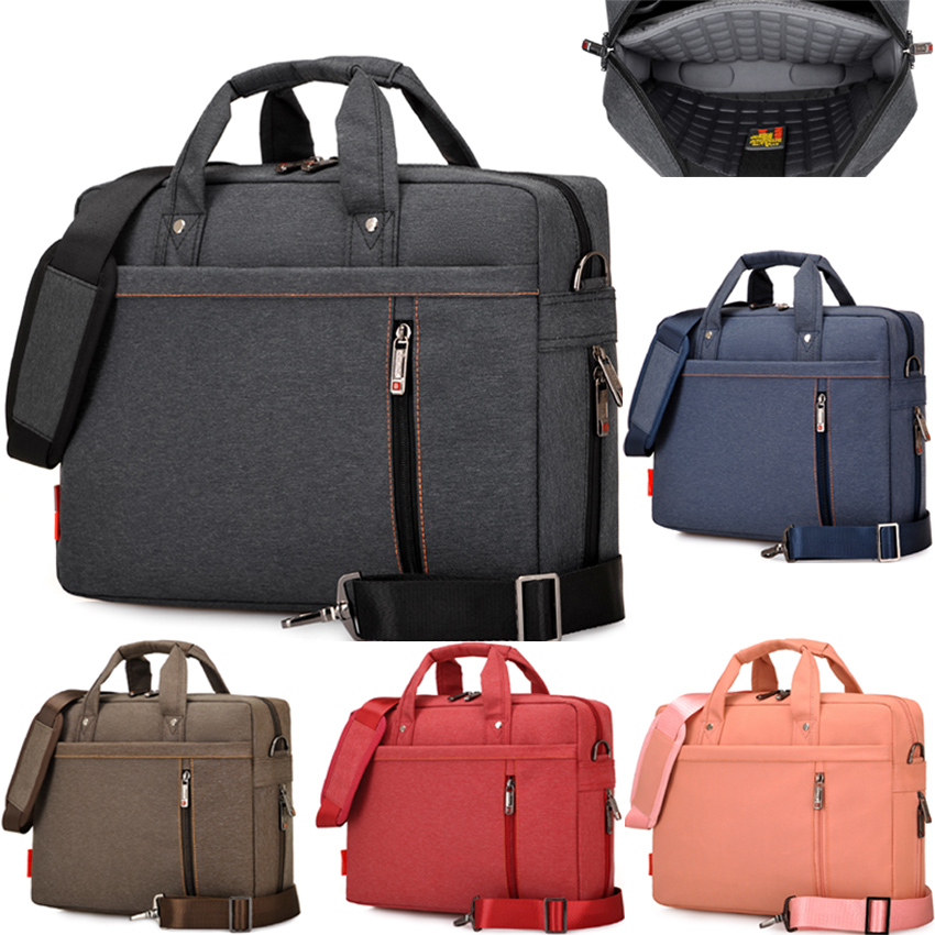 12 13 14 15 17 Inch Waterproof Extendable Shockproof Nylon Laptop Notebook Tablet Bag Bags Case