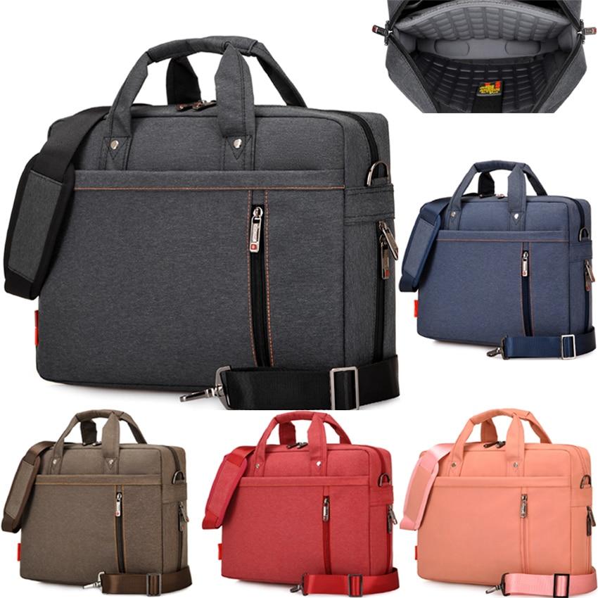 12 13 14 15 17 Inch Waterproof Extendable Shockproof Nylon Laptop Notebook Tablet Bag Bags Case sleeve Messenger for men women