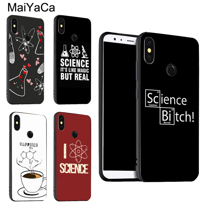 Science Chemistry Caffeine Case For <font><b>Xiaomi</b></font> Redmi Note 8 7 9 <font><b>Pro</b></font> K30 9S 8T 7A 8A <font><b>Mi</b></font> 9 A3 9T 10 <font><b>Pro</b></font> <font><b>Max3</b></font> Mix3 image