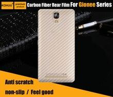 2 pcs lot Premium Clear Screen Protectors Back Cover PVC HD screen guard For Gionee Marathon