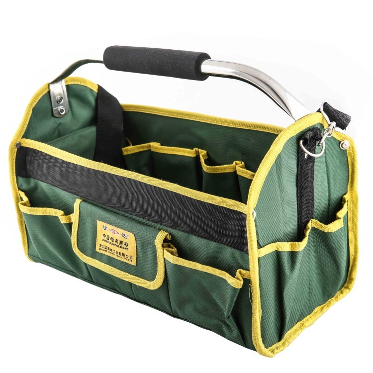 Folding Tool bag multi function bag Portable Electrician Tool box Shoulder Bagpack Steel Wire Package