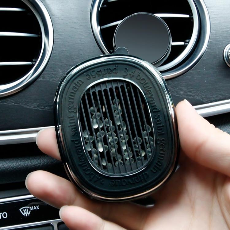Car Scented Diffuser For Diptyque Tiptik  Ribbon Fragrance Shell Solid Perfume Outlet Bracket (Only Bracket)
