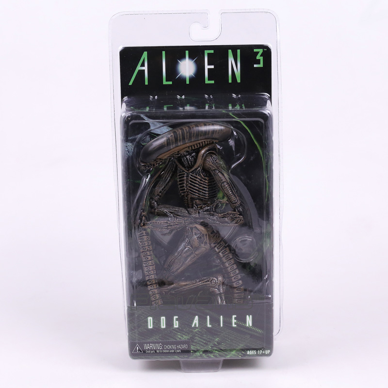NECA Alien 3 Dog Alien PVC Action Figure Collectible Model Toy 7 18cm free shipping neca official 1979 movie classic original alien pvc action figure collectible toy doll 7 18cm mvfg035