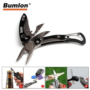 Outdoor Camping Tool EDC Gear Tactical Folding Pocket Knife Stainless Steel Opener Mini Travel Survival Kit Pliers 21-0012