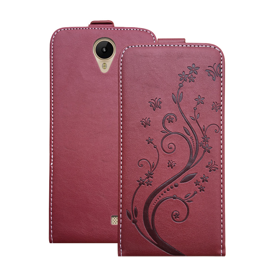 3D Stereo Embossing lace flower butterfly flip up and down leather phone bag cover case for <font><b>Prestigio</b></font> <font><b>Muze</b></font> <font><b>G3</b></font> <font><b>LTE</b></font> <font><b>PSP3511</b></font> <font><b>DUO</b></font> image