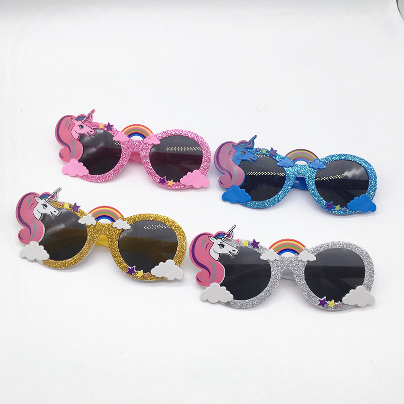 24 Pairs Unicorn Party Sunglasses for Adults Birthday Party Gifts Wedding Favors Bridesmaid Gifts Unicorn Party