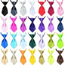 Mix Colors Wholesale 20pcs/lot Pet Grooming Accessories Rabbit Cat Dog Bow Tie Adjustable Bowtie Multicolor