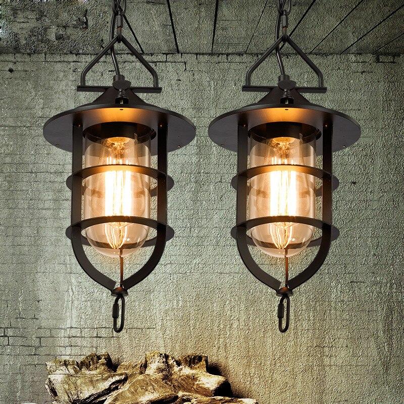 Loft Rh Industrial Warehouse Pendant Lights American: Loft Vintage Pendant Lights American Style Pendant Lamps