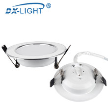 LED Downlight AC220V~240V 5W 9W 12W 15W LED Ceiling Round Recessed Lamp Waterproof LED Spot Light For Bathroom Kitchen(China)