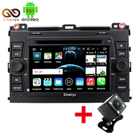 Sinairyu 4G LTE Android 6 0 Octa Core Car DVD Player FOR Toyota Land Cruiser Prado