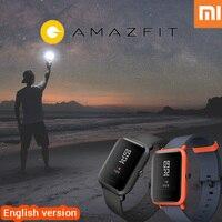 English Version Xiaomi Huami Amazfit Bip Smart Watch Amazfit Pace Heart Rate Bluetooth Smartwatch Xiaomi Amazfit
