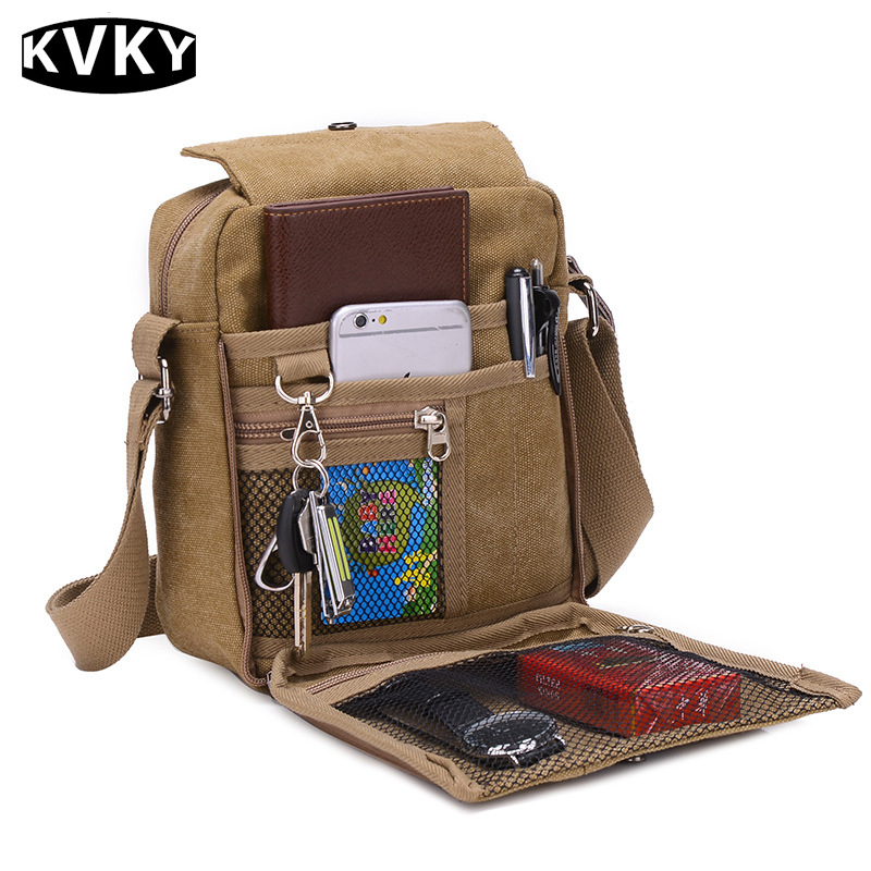 2017 New Hot sale men's messenger bags men travel bags canvas bag cross-body bag high quality pouch men purse