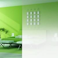 1.52x3m Self Adhesive Window Film Gradient Glass Film Semi Privacy Shield One Way Gradient Film For Office