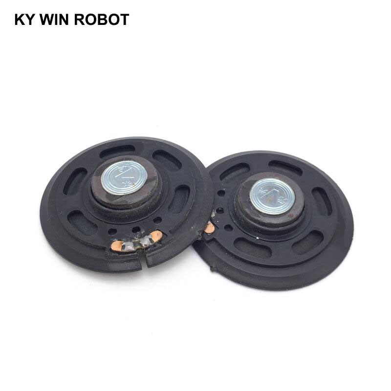 2pcs New Ultra-thin Speaker Doorbell Horn Toy-car Horn 16 Ohms 0.5 Watt 0.5w 16r Speaker Diameter 57mm 5.7cm Thickness 10mm Bright In Colour Passive Components Electronic Components & Supplies