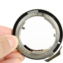 Lens Adapter Ring Voor Nikon G AF S AI F Lens en Canon EOS EF Mount Adapter 650D 600D 550D 1100D 60D 7D 5D
