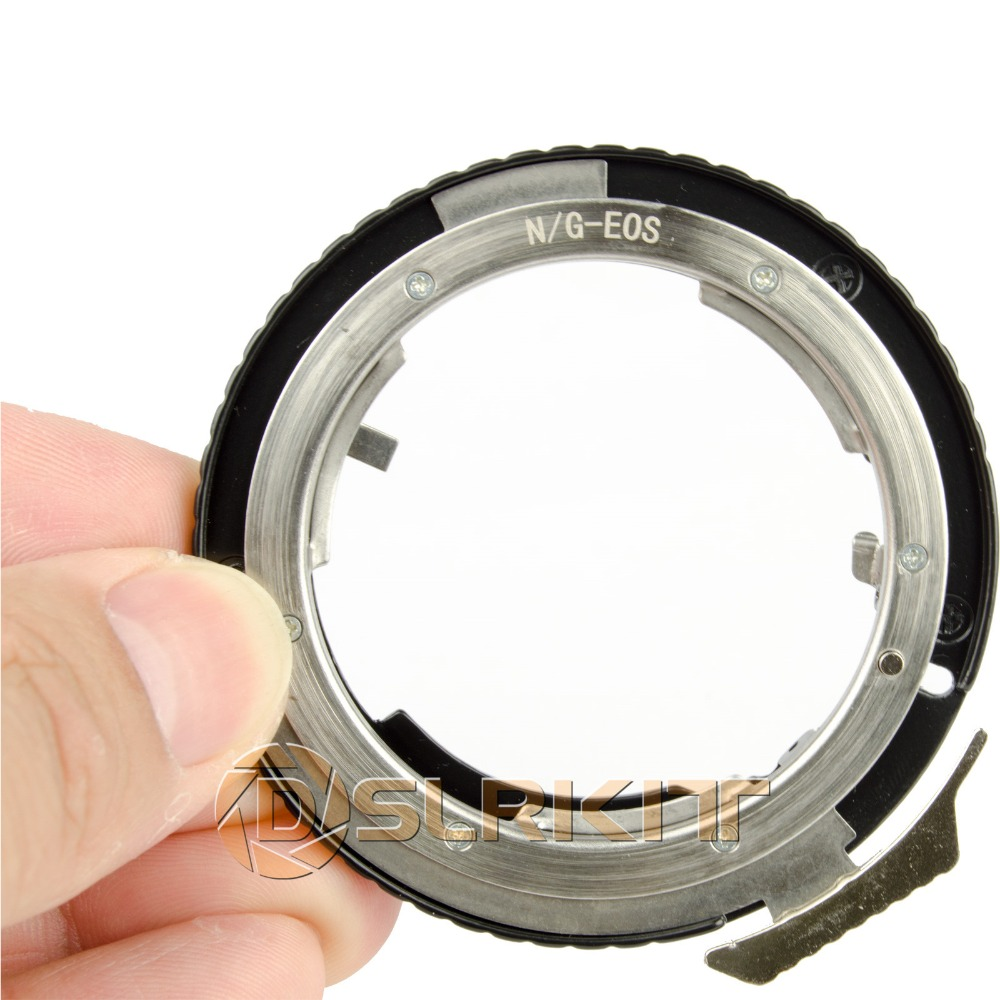 Objektiv Adapter Ring Für Nikon G AF-S AI F Objektiv und Canon EOS EF Mount Adapter 650D 600D 550D 1100D 60D 7D 5D