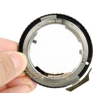 Image 1 - 니콘 g AF S ai f 렌즈 및 캐논 eos ef 마운트 어댑터 650d 600d 550d 1100d 60d 7d 5d 용 렌즈 어댑터 링