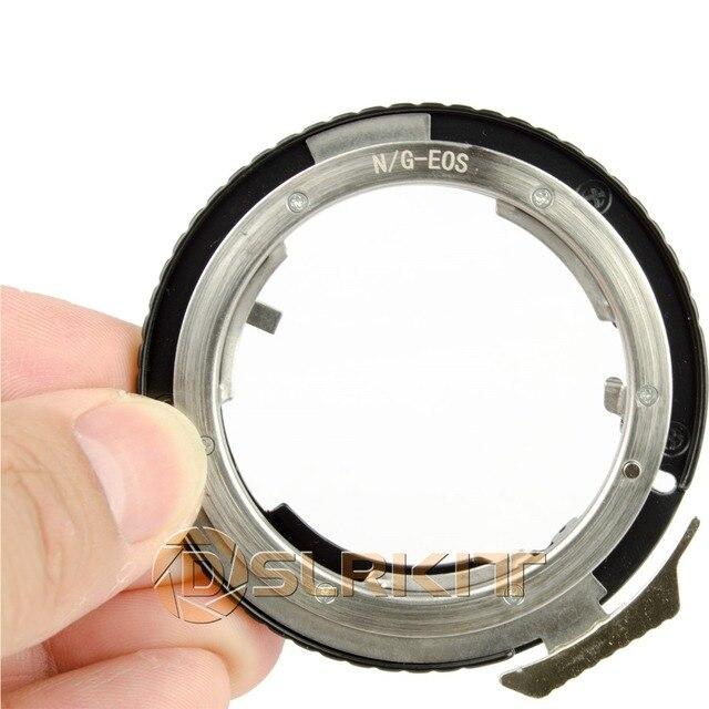 니콘 g AF S ai f 렌즈 및 캐논 eos ef 마운트 어댑터 650d 600d 550d 1100d 60d 7d 5d 용 렌즈 어댑터 링