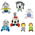 2016 Undertale Frisk Chara Sans Papyrus Frisk Asriel Napstablook Toriel Temmie Stuffed Doll Plush Toy For Kids Gifts