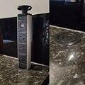 220 v 16a pop up elétrica 3 tomada de energia 2 usb tomada de mesa de cozinha retrátil para bancadas worktop reino unido/ue/au/eua plug