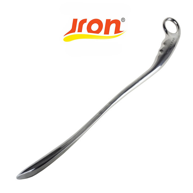 Jron Metal Shoes Horns Titanium Alloy Shoes Spoon Stainless Steel Long Pull Shoe Horn Convenient Wearing Shoes Horn And Spoon