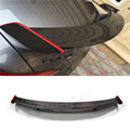 For Mercedes CLA CLASS W117 C117 CLA45 Carbon Fiber GT Rear Trunk Spoiler With Red line CLA 200 250 260 CLA45 2013 - 2016