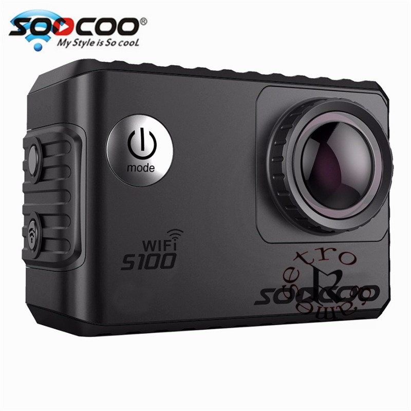 SOOCOO S100 Action Camera 4K Wifi Built in Gyro GPS Extension Go Waterproof Pro Mini Cameras Diving Outdoor Mini Sports DV - 6
