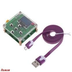 OOTDTY 8GHz 1 8000Mhz miernik mocy OLED RF 55 do 5 dBm + oprogramowanie RF tłumienie wartość Drop Shipping wsparcie w Mierniki mocy od Narzędzia na