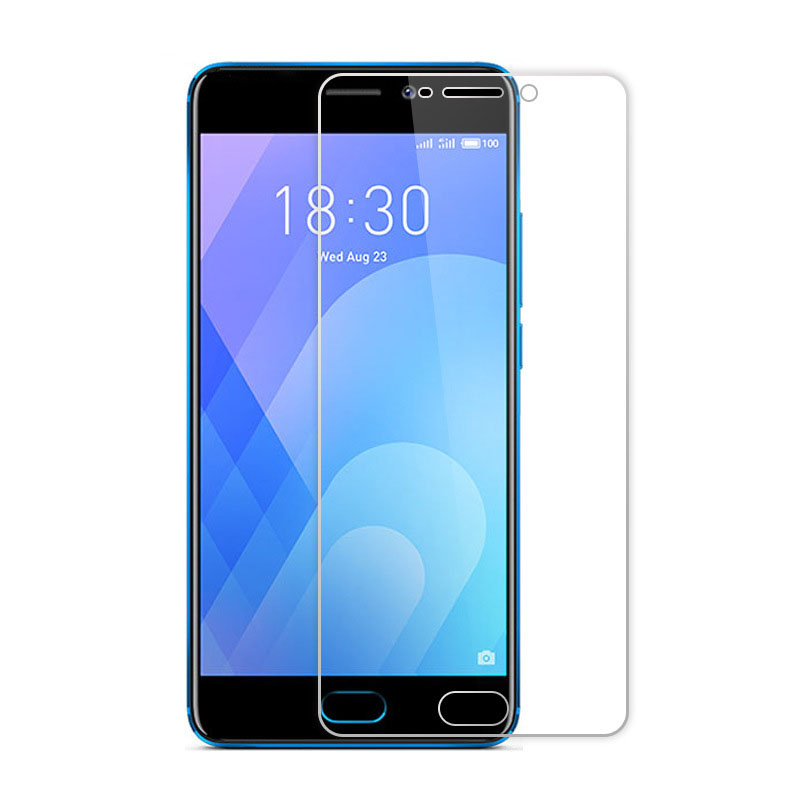 2PCS Screen Protector Mobile Phone For Meizu 15 Lite (M15) Plus M6T M6s (S6) M8 M8C X8 M6 Note Tempered Glass Film Protective