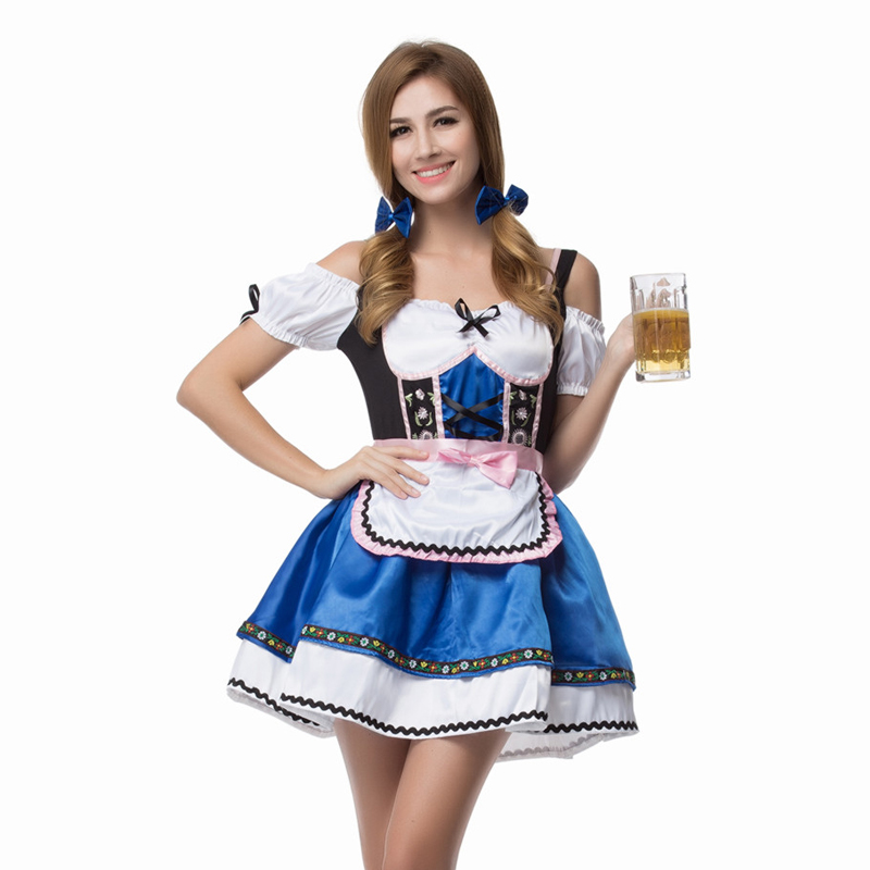 Naked beer maid