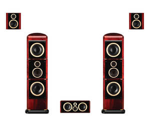 Front F2.2A Woofer Hivi Swans Home Theater Ribbon Rear 5 Center-F2.2c Flagship-Series
