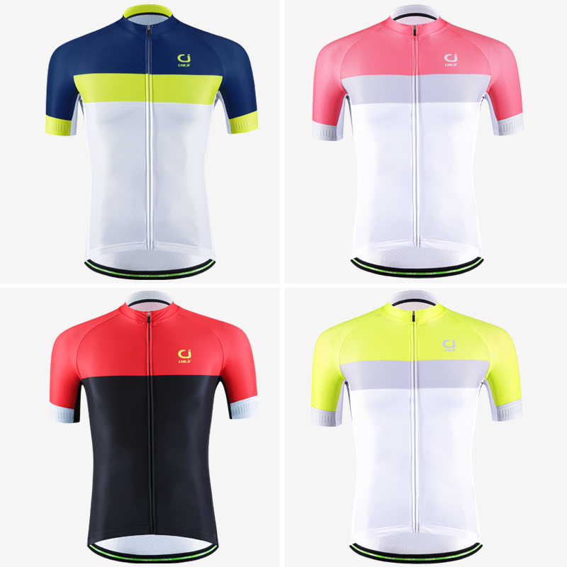 CHEJI Men Bike Shirt Short Sleeve Breathable Quick Dry Customized Bicycle Jersey Pro Racing Cycling Clothing Jersey de Ciclismo quick dry breathable cycling bike jersey short sleeve summer spring women shirt bicycle wear racing tops pants sports clothing