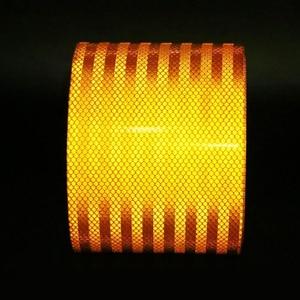 Image 3 - 3M cinturón naranja reflectante de alta calidad, pegatina reflectante automática, cinta de advertencia reflectante naranja