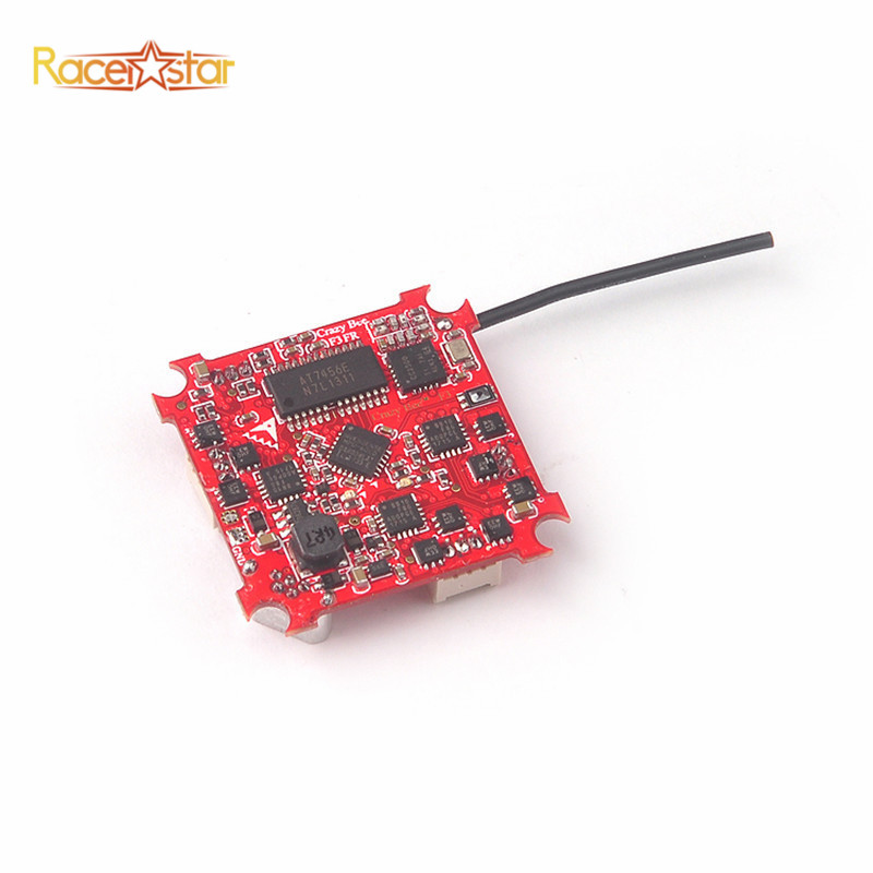 Racerstar Crazybee F3 Flight Controller 4 IN 1 5A 1S Blheli_S ESC For Frsky D8 Receiver RC Quadcopter Drone Motors Frame Part drone with camera rc plane qav 250 carbon frame f3 flight controller emax rs2205 2300kv motor fiber mini quadcopter