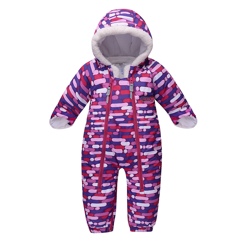 2018 New Style Newborn Winter Baby Girl Clothes Boy Clothing Winter Baby Jumpsuits Snowsuit Cotton Warm One Pieces Outfits -20C baby girl clothes baby winter suit spring and autumn warm baby boy clothes newborn fashion cotton clothes two sets of underwear
