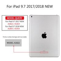 чехол для iPad с 9, 7 2017, golp искусственная кожа magentic смарт-чехол мягкая вернуться тпу защитный чехол для айпад 2018 крышки a1822 a1823 чехол на айпад 5 6