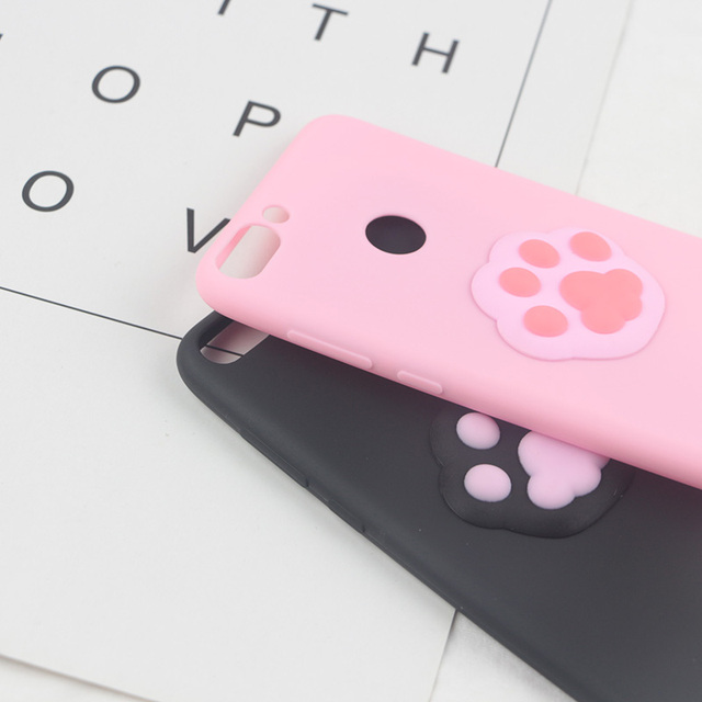 3D Cute Foot Case for Apple iPhone