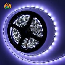 12V 5M led strip 3528 Non Waterproof LED Strip 3528 5m 300 LED SMD Flexible Light RGB Adhesive Strips for Car Counter Tiras Luz
