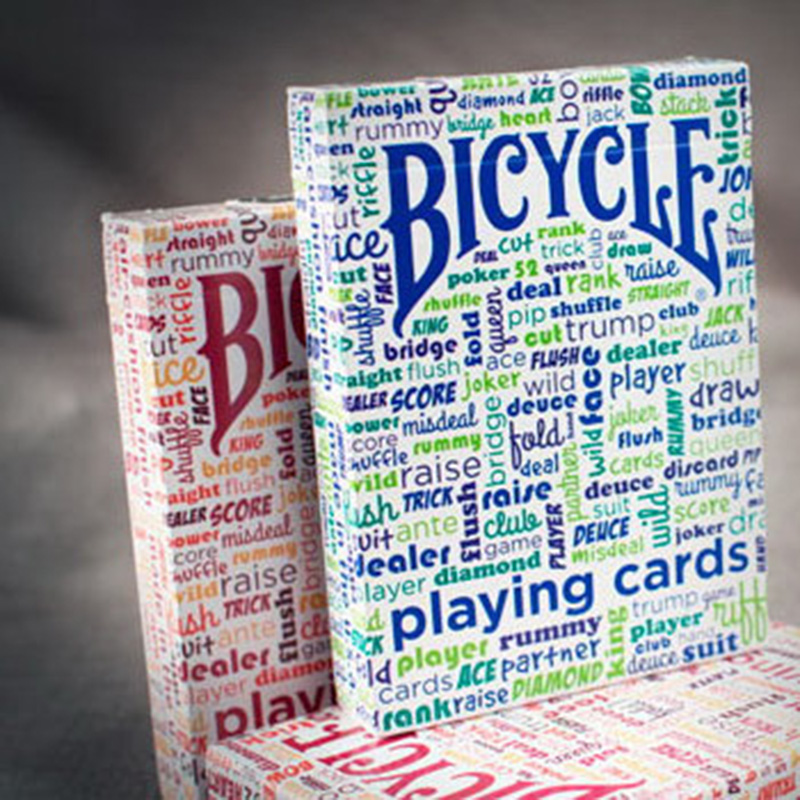 Bicycle Table Talk Playing Cards Original Poker Cards for Magician Collection Card Game