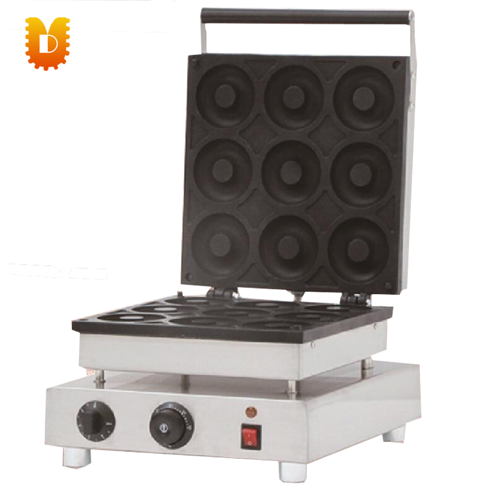 manual big 9 PCS donuts making machine/doughnut makers цена и фото